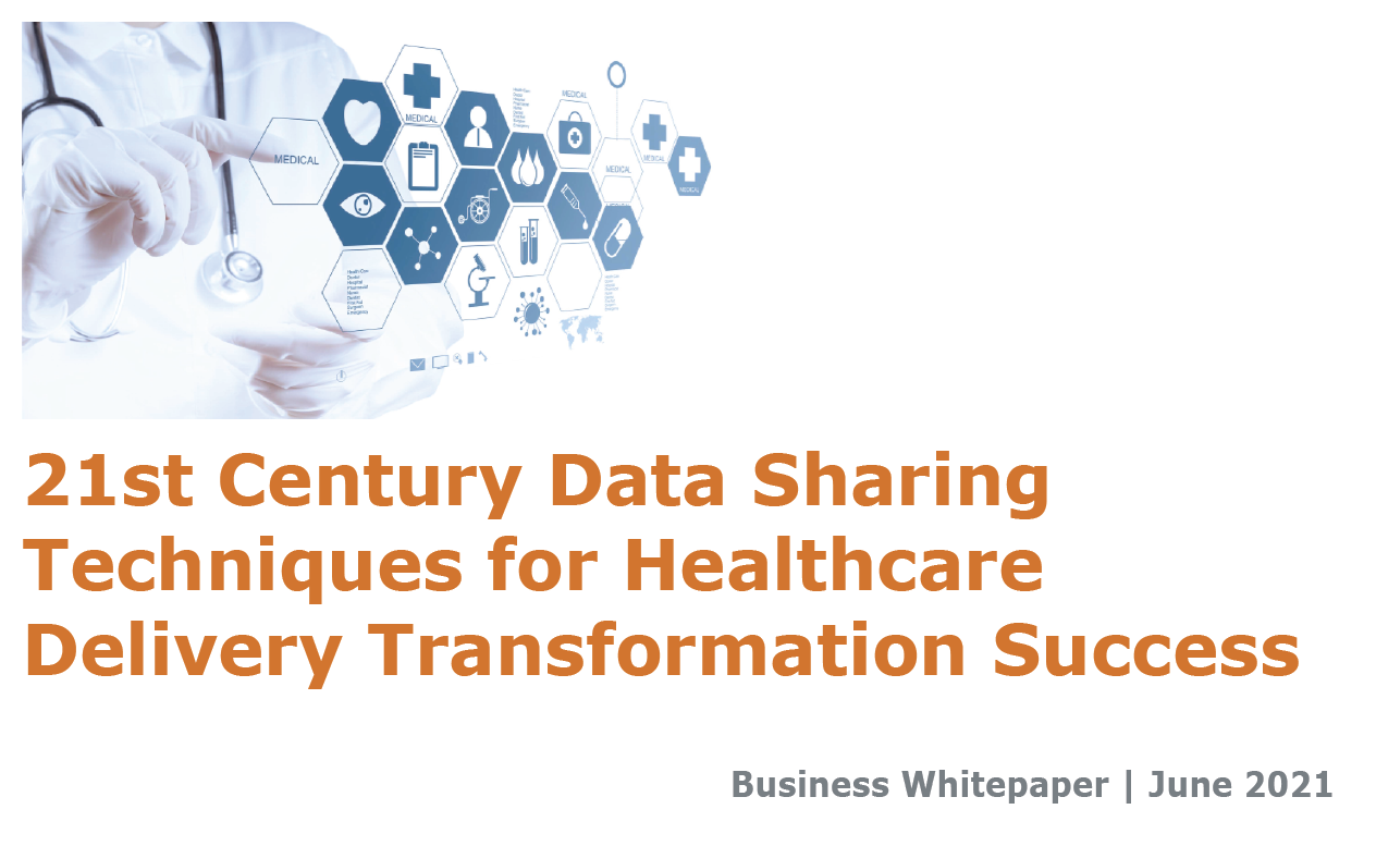 21st Century Data Sharing Techniques for Healthcare Delivery Transformation Success